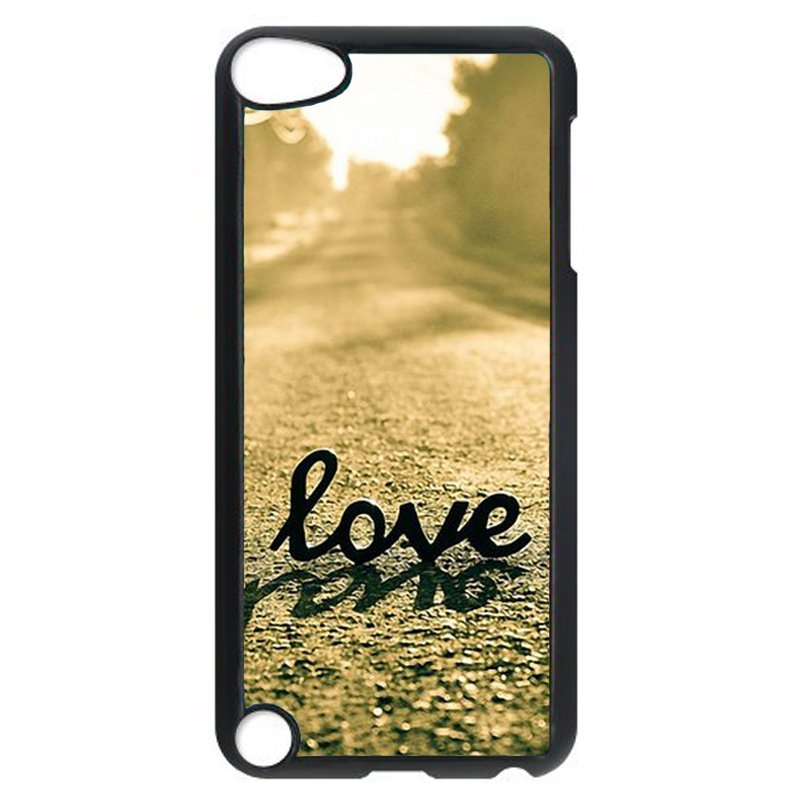 Love Simple Word Phone Case for iPod Touch 5 (Black)