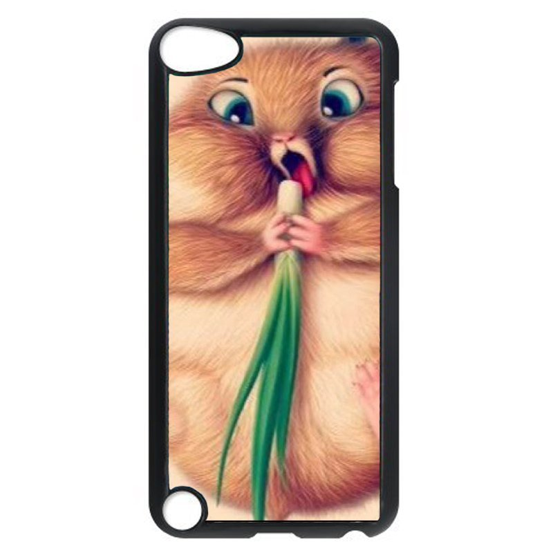 Lovely Squirrel Phone Case for iPod Touch 4 (Black)