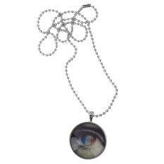 Luminous Design Lovely Open Eye Glow In The Dark Necklace Pendant - Intl