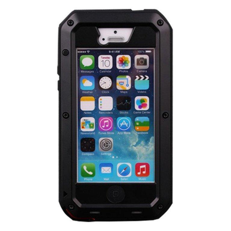 Lunatik Taktik Extreme Case for iPhone SE / 5S / 5 - Hitam