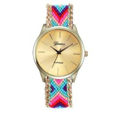 Luxury Fashion Canvas Woman Mens Analog Watch Wrist Watches Multicolor Free Shipping