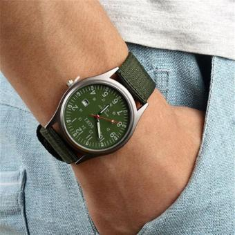 Luxury Fashion Mens Quartz Analog Watches Watch Green Free Shipping Free Shipping