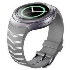 Luxury TPU Silicone Watch Band Strap for Samsung Galaxy Gear S2 Sm-r720 - Intl