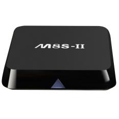 M8S-II Smart Android TV Box Android 5.1 Amlogic S905 Quad Core 64-bit 2GB / 8GB KODI UHD 4K*2K60fps HDMI DOLBY TrueHD & DTS HD Mini PC WiFi Bluetooth 4.0 DLNA Airplay Miracast Media Player
