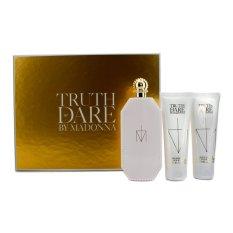 Madonna Truth Or Dare Coffret: Eau De Parfum Spray 75ml / 2.5oz + Body Lotion 75ml / 2.5oz + Shower Gel 75ml / 2.5oz 3pcs