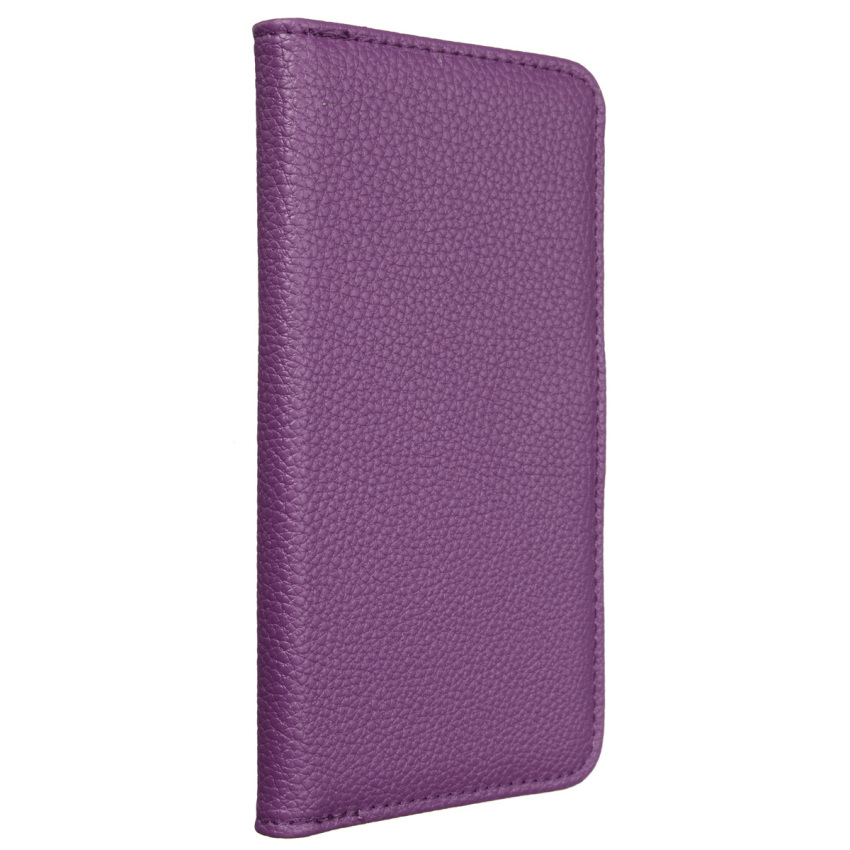 "Magnetic Flip PU Leather Wallet Cover for ASUS Zenfone 2 ZE551ML 5.5"" (Purple) (Intl)"