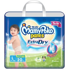 Mamypoko Popok Pants Extra Dry - L 20