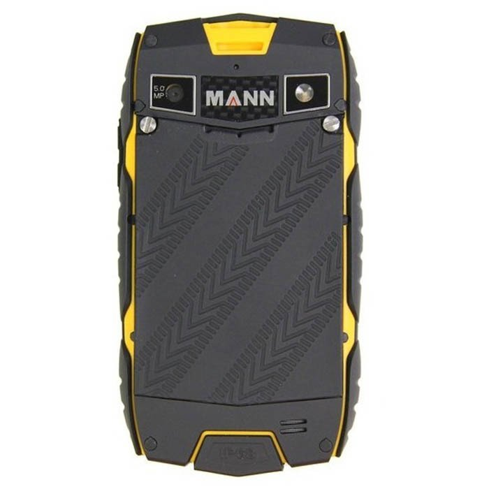 Mannzugg 3 IP68 - 4GB - Hitam
