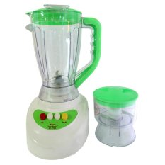 Maspion Blender + Chopper MT-1568 - Putih/Hijau