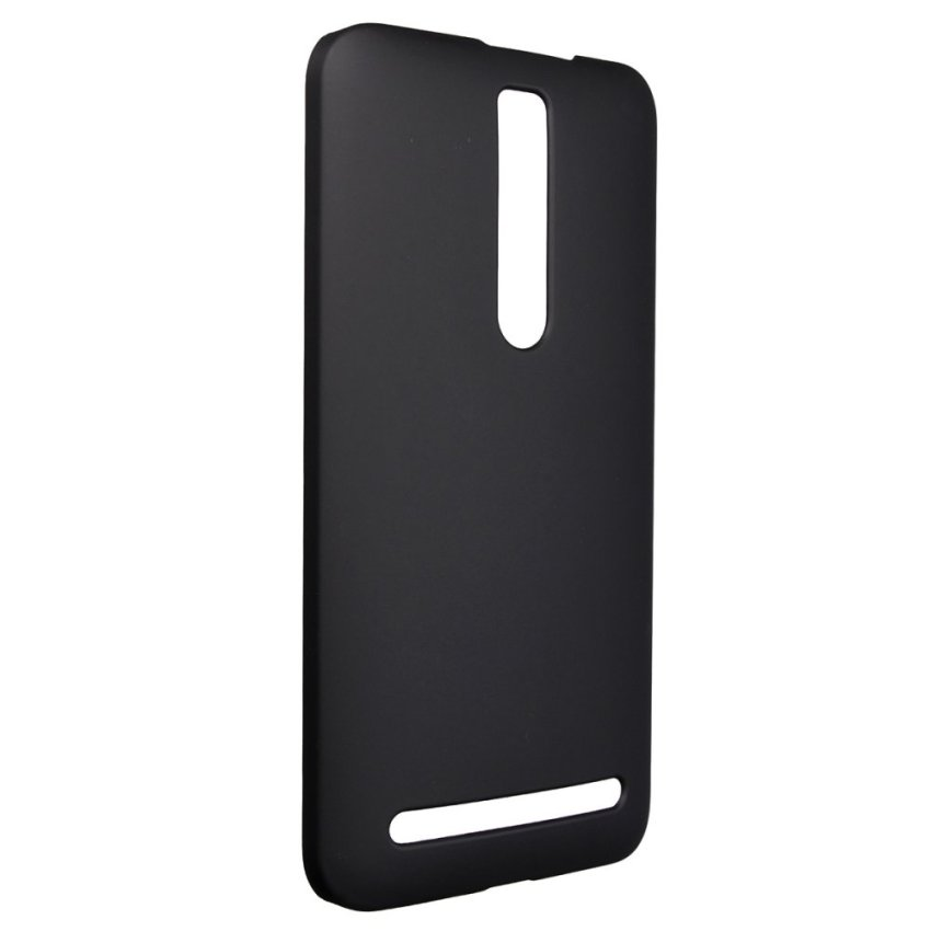 Matte Hard Shell Case for ASUS Zenfone 2 5 6 (Black) (Intl)