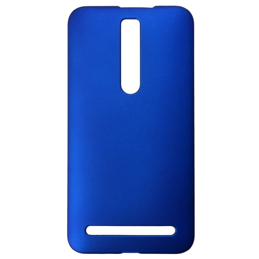 Matte Hard Shell Case for ASUS Zenfone 2 5 6 (Blue) (Intl)