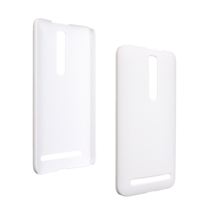 Matte Hard Shell Case for ASUS Zenfone 2 5 6 (White) (Intl)