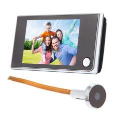 MEGA 3.5 Inch LCD 120 Degree Peephole Viewer Door Eye Doorbell Color IR Camera (Intl)
