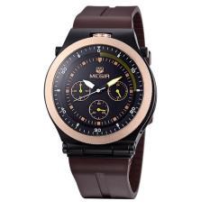 Megir Chronograph 24 Hours Function Date Sport Watch Silicone Army Watch Men Military Watch Men Wrist Watch - Intl