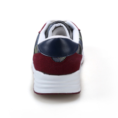 Men Casual Shoes Flat Men's Trainers Sneakers Fashion Sport Shoes Men Breathable Mesh Wedge Sneakers Red - Intl - Intl