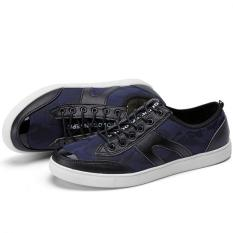 "Men""s Sports Shoes Casual Shoes Korean Version Of The Trend Of Low Shoes Shoes (Blue) ' - Intl"