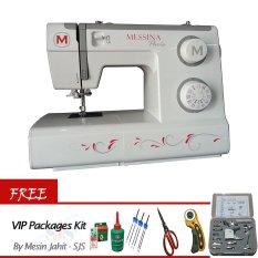Messina P-5832 Mesin Jahit Portable +GRATIS VIP Packages Kit