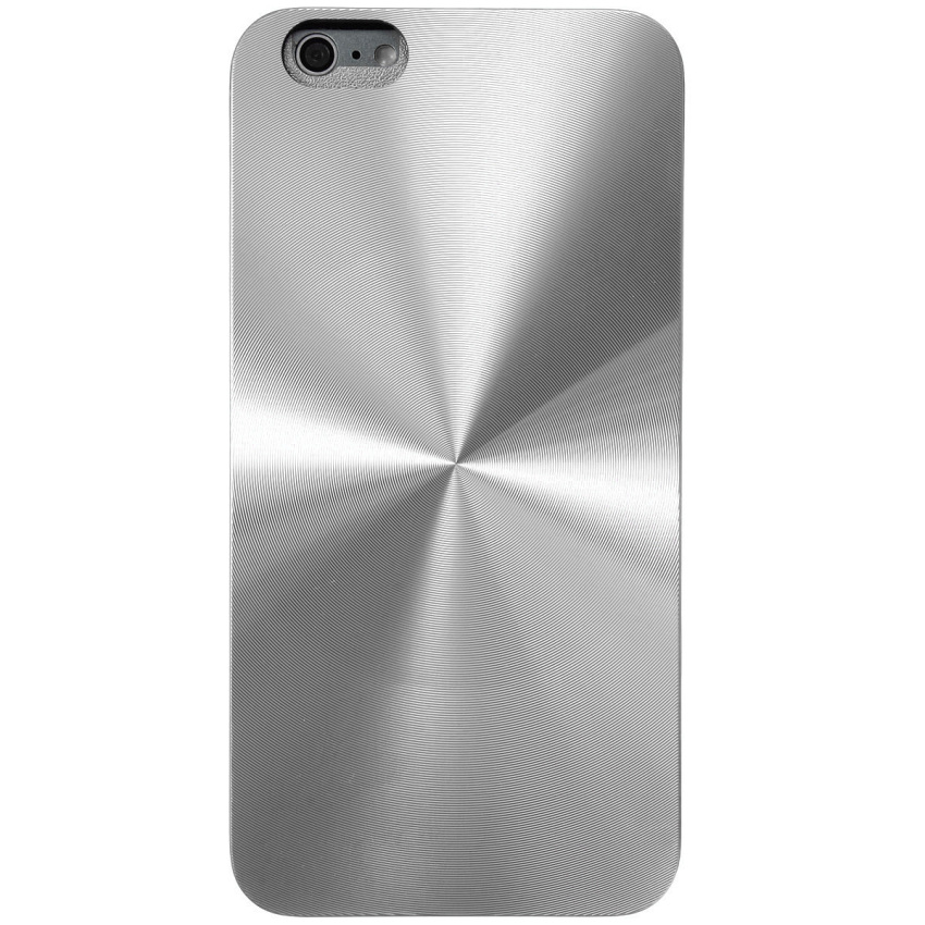 Metal CD Pattern Hard Slim Back Case Skin for iPhone 6 Plus 5.5'' (Silver) (Intl)