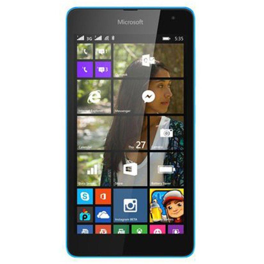 Microsoft - Lumia 535 - 8GB - Dual SIM - Cyan