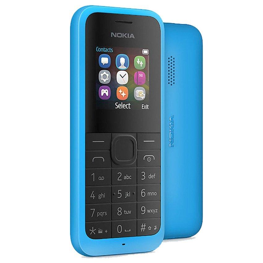 Microsoft Nokia 105 New - 2000 Contacs - Cyan