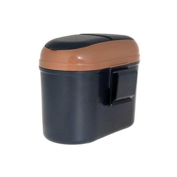 Mini in Car Use Trash Bin (Black)