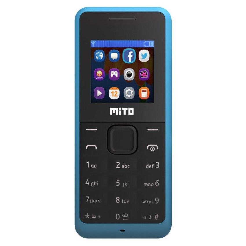 Mito 168 - Dual SIM - Biru