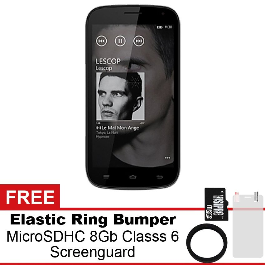 MITO A180 - Gratis MicroSDHC 8Gb Class 6 + Elastic Ring Bumper + Screenguard