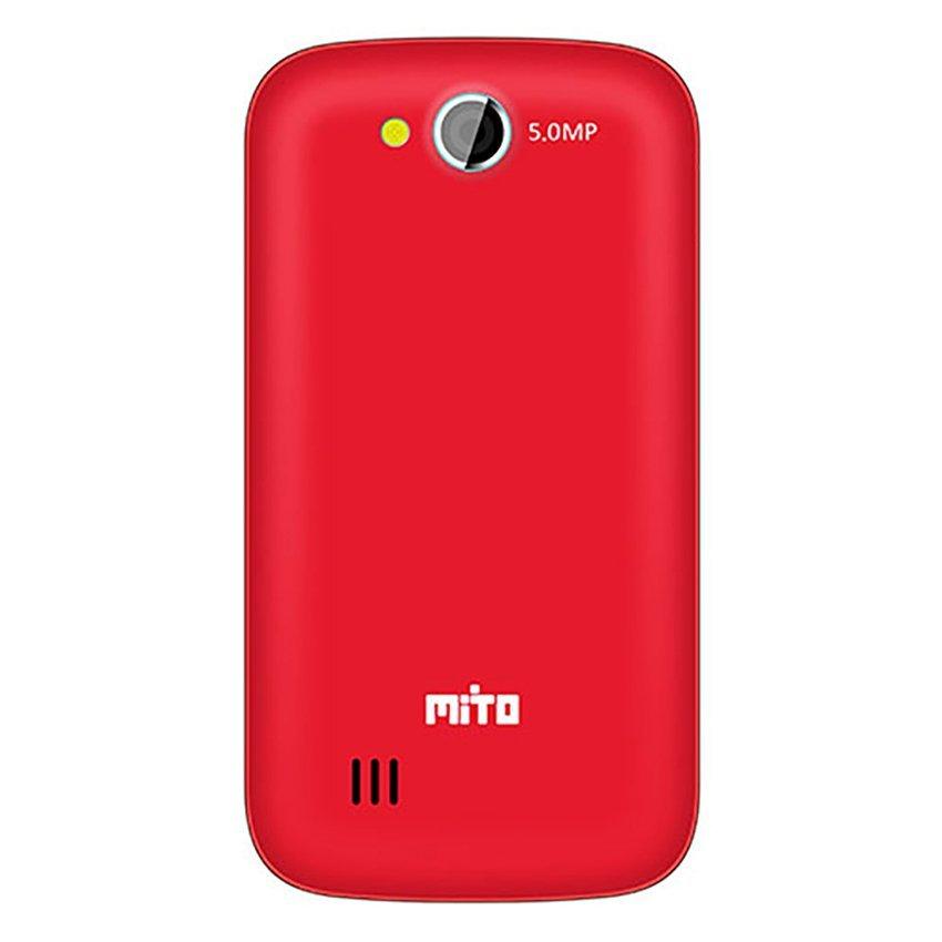 Mito Fantasy A313 - 4GB - Merah + Gratis MicroSDHC 8Gb Class 6 + Elastic Ring Bumper + Screenguard