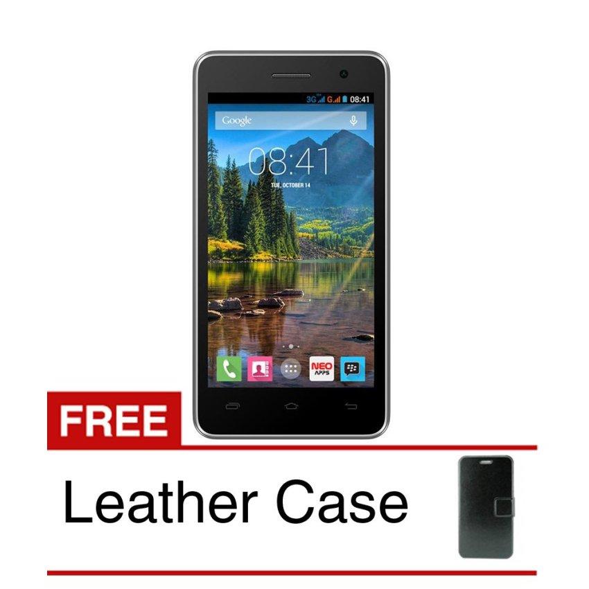 Mito Fantasy Mini A260+ - 8GB - Hitam + Gratis Leather Case Original