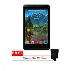 Mito T55 - 8GB - Hitam + Gratis Flipcover Original