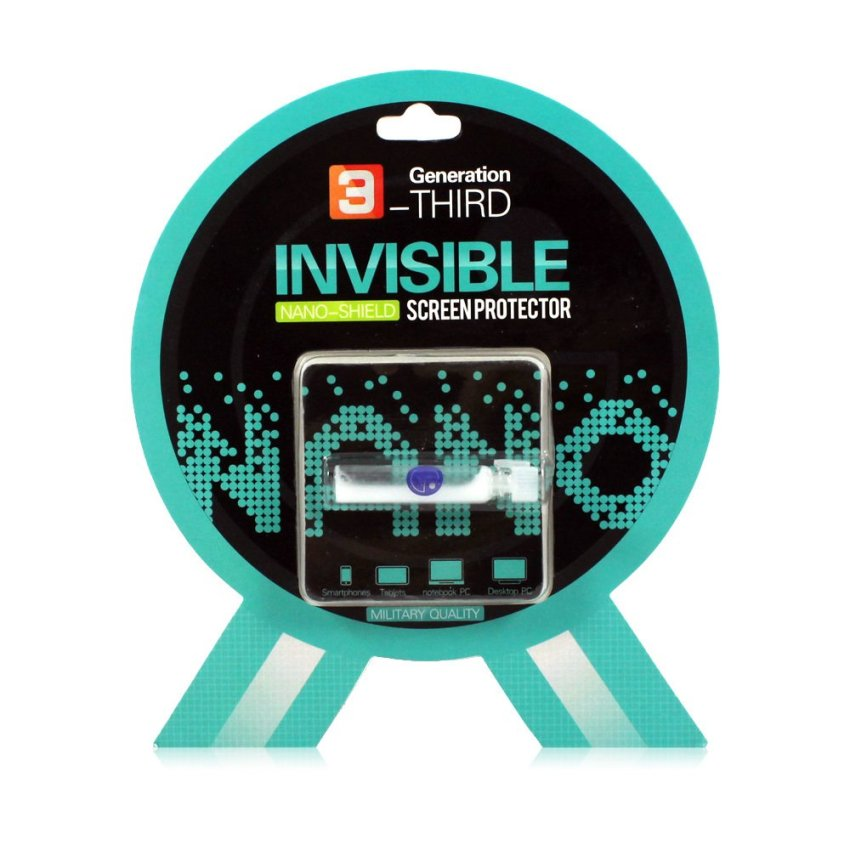 MMS Invisible Nano Shield Liquid Screen Protector For Smartphone & Tablet - Military Quality