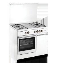 Modena Kompor Oven - Freestanding - FC 7941W - 4 Tungku - Putih - Pengiriman Khusus Jabotabek