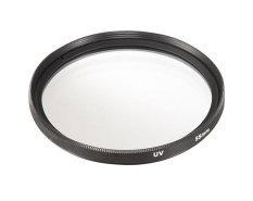 Moob Universal Aluminum Alloy 55mm UV Protection Filter For Digital SLR Camera (Black) - Intl