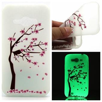 Jual Moonmini Night Bright Soft TPU Case For Samsung Galaxy J1 Ace - Peach Tree -