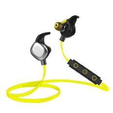 Morul U5 Plus IPX7 Waterproof Sport Earphone Magnetic Stereo Auriculares Wireless Earbuds Running Bluetooth Headset Microphone (Green) - Intl