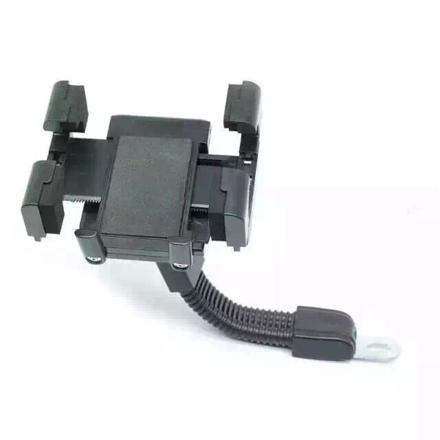 Motorcycle Smart Phone Holder Cradle Universal for all Mobile Phones (Black) (Intl)