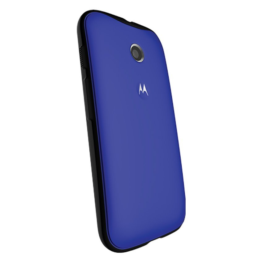 Motorola Grip Shells for Moto E - Royal Blue