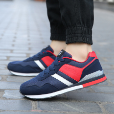 MT New Trend Gump Shoes, Sports Shoes Breathable And Comfortable Fashion Classic (Red And Blue) - Intl