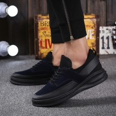 MT New Urban Fashion Casual Shoes, Hot New Fall Trend Of Men's Shoes, Comfortable Non-slip (Black)