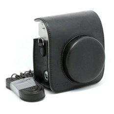 Mulba PU Leather Fuji Mini Case Bag For Fujifilm Instax Mini 90 Black C572