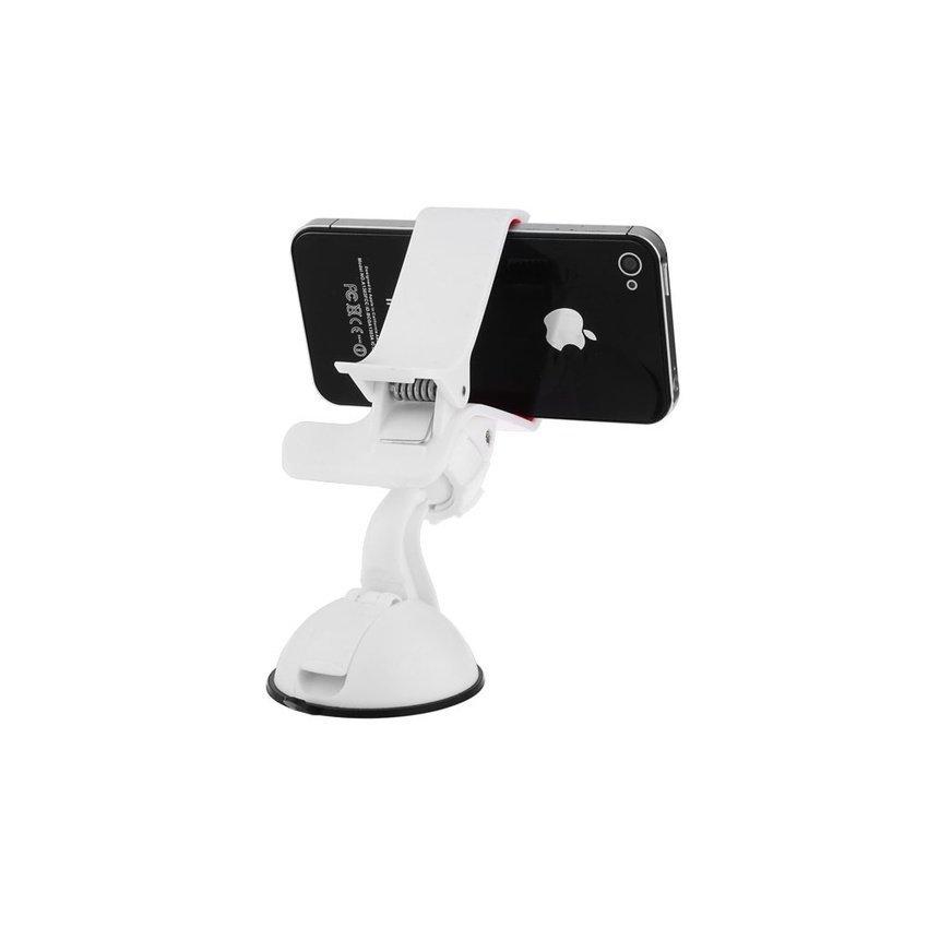 Multifunction 360 Degrees Rotating Car Holder for Phone White (Intl)