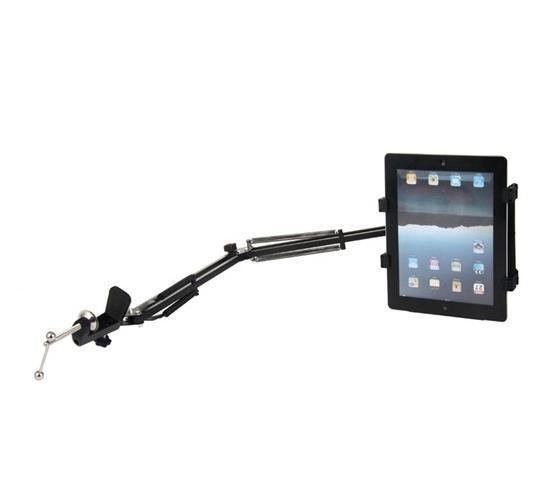 Multifunctional 360-degrees Rotatable & Stretchable Stand for iPad, iPad 2, 7- 12 Tablet PCs (Black) (Intl)