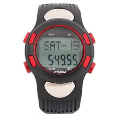 Multifunctional Outdoor Sports Wrist Running Fitness Smart Gift Watches Student Electronic Watches Sports Watches Red