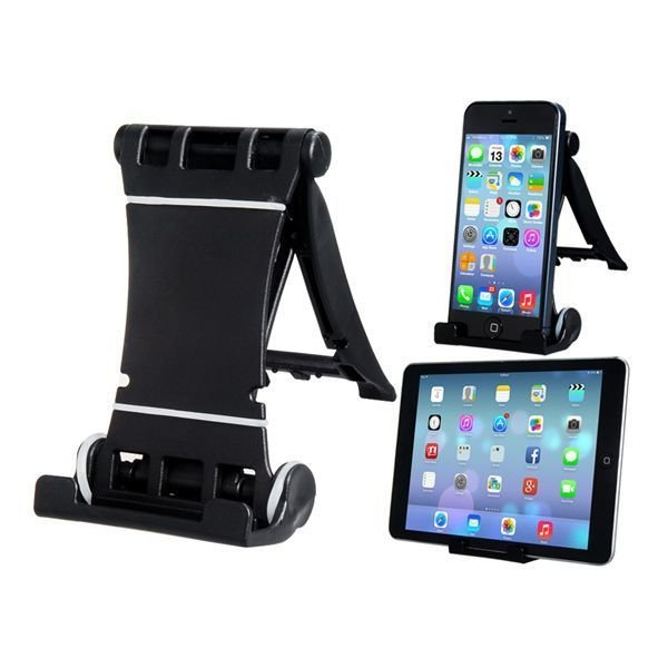 Multifunctional Plastic Holder for iPhone iPod (Black)