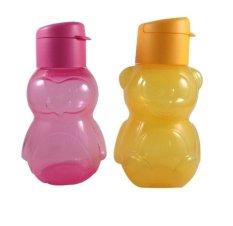 Nadeea Tupperware Eco Bottle Kids 350ml - Pink Kuning