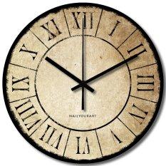 Nail Your Art Jam Dinding Unik Artistik - Papyrus - Artistic Unique Wall Clock