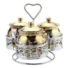 Nakami Candy Jar - Gold