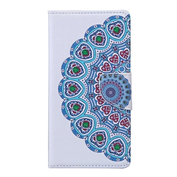 National Style Flower Bud Pattern Horizontal Flip Leather Cover with Holder and Card Slots and Wallet for Wiko Fever (Multicolor) (Intl)