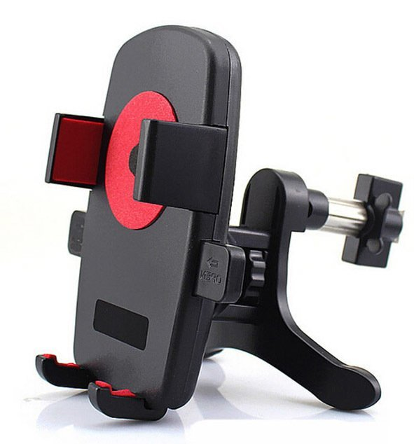 New Arrivals Multifunction Auto Car Phone Holder Automatic Phone Lock Bracket (Black) (Intl)