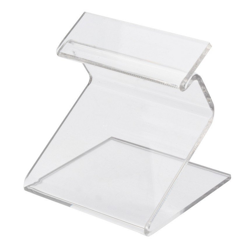 New Clear Cell Phone MP3 MP4 Holder Plastic Store Sale Show Display Stand Decor (Intl)